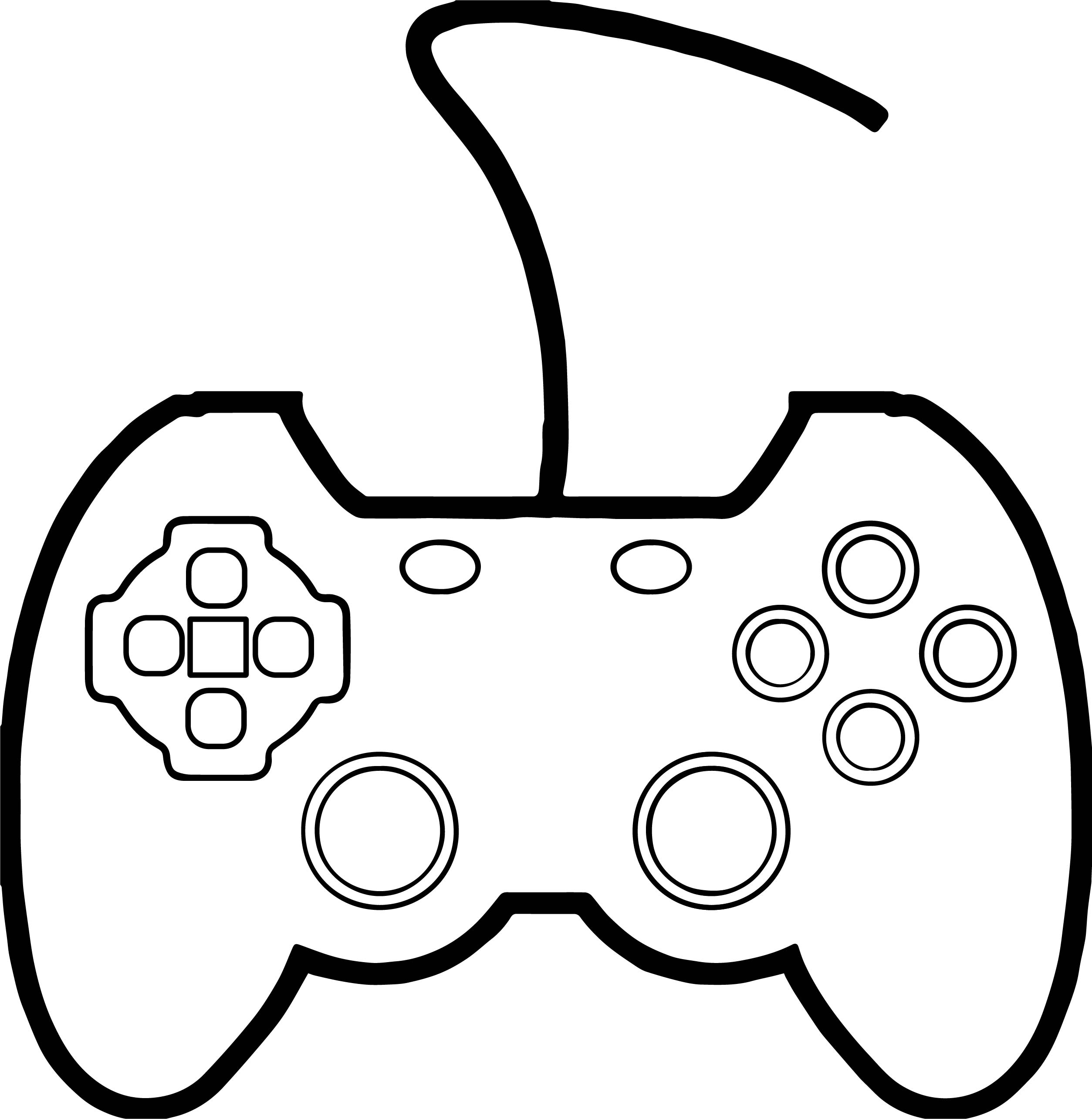 2507x2568 Video Game Coloring Pages