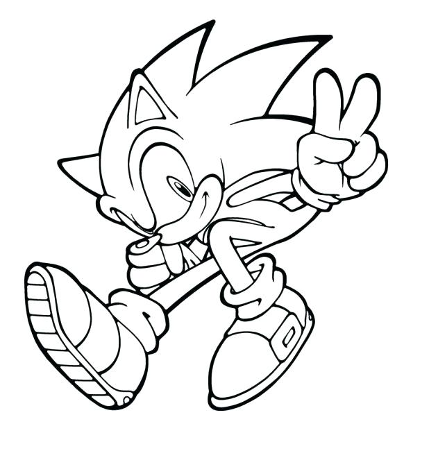 618x647 Spectacular Outstanding Sonic Unleashed Coloring Pages Fee