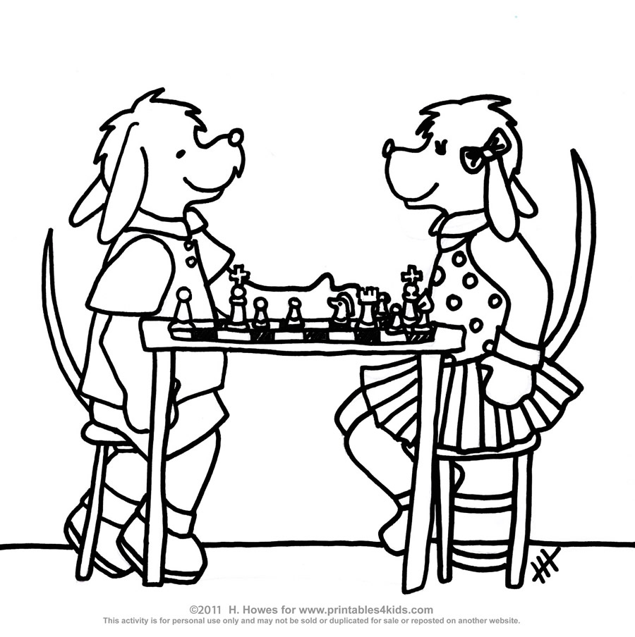 900x904 Chess Game Coloring Nice Games Coloring Pages