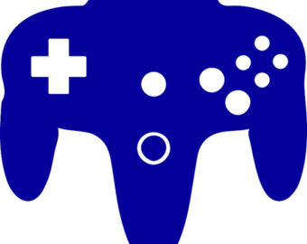 340x270 Controller Clipart Silhouette