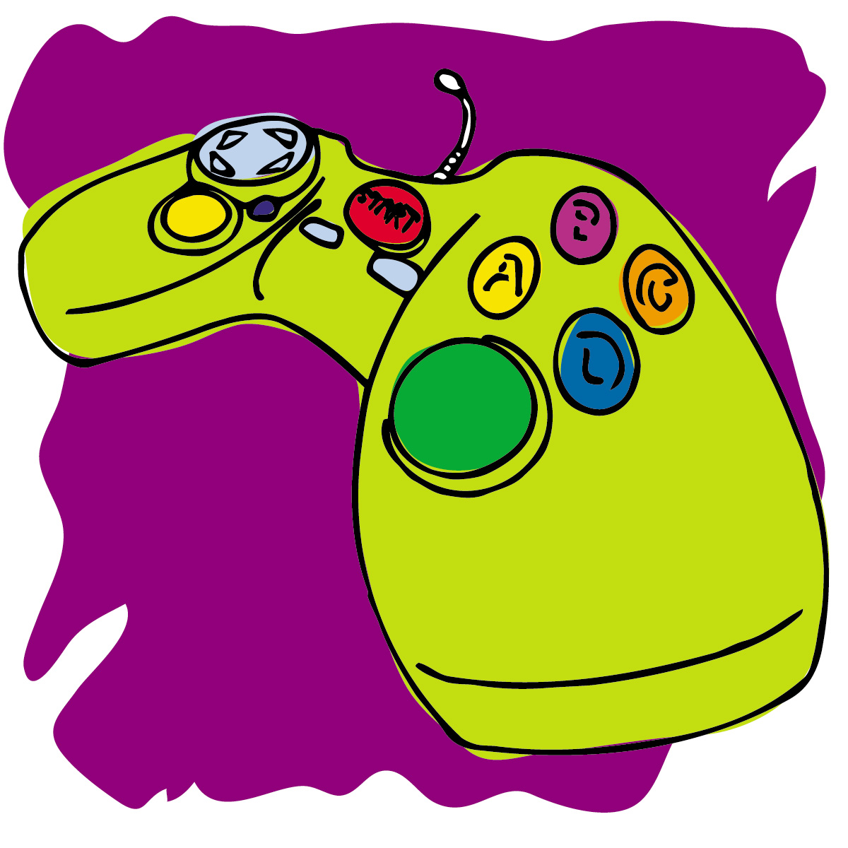 1200x1200 Game Clipart Game Controller