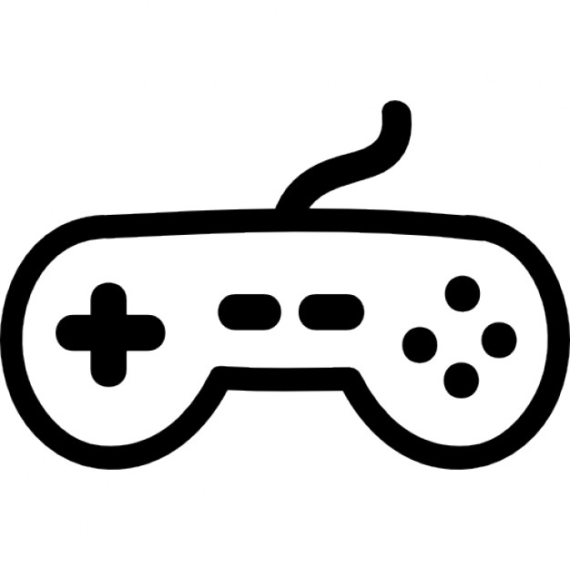 626x626 Game Controller Hand Drawn Tool Icons Free Download
