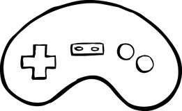 261x160 Video Game Controller Clip Art Black And White Clipart