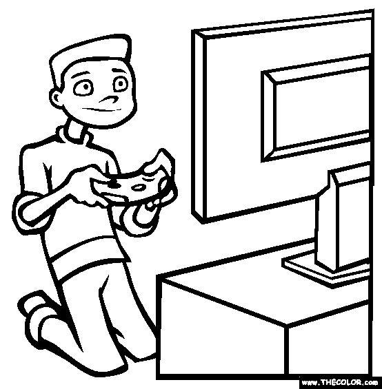 554x565 Online Video Games Clip Art Cliparts