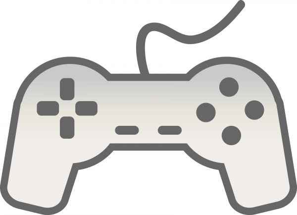 600x434 Video Game Clipart Controler