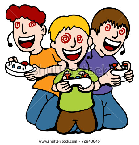 450x470 Person Playing Video Games Clipart