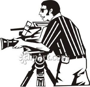 300x290 Men Clipart Camera