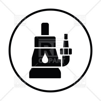 400x400 Submersible Water Pump Icon Royalty Free Vector Clip Art Image