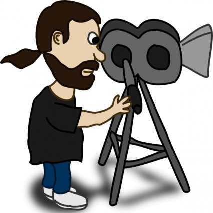 425x424 Video Camera Clip Art