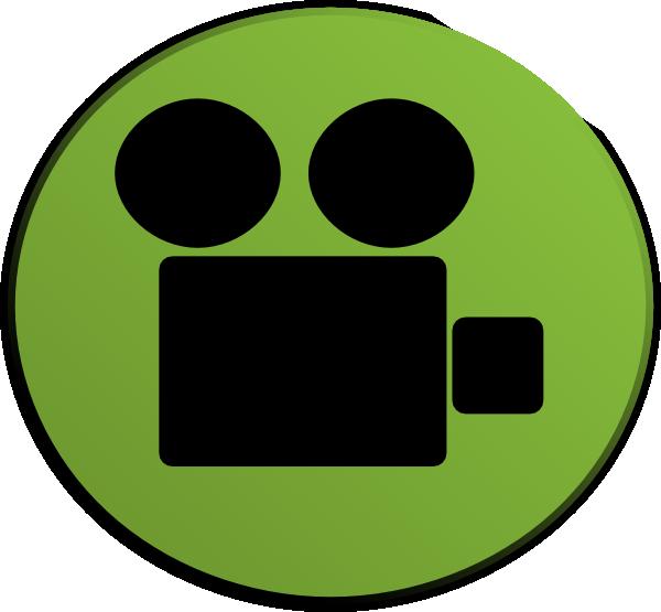 600x555 Video Camera Green Clip Art
