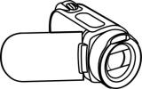 160x100 Video Camera Clipart