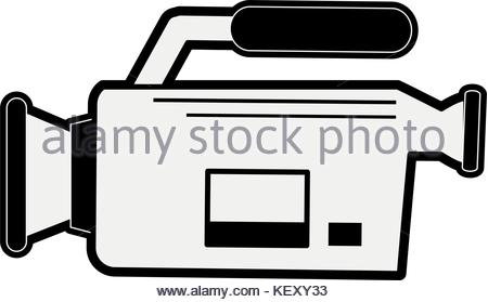 450x279 Video Camera Sideview Icon Image Stock Vector Art Amp Illustration