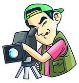 162x170 Videographer Clip Art Cliparts