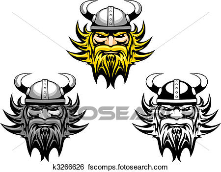 450x351 Clip Art Of Ancient Viking K3266626 d05f9035e85