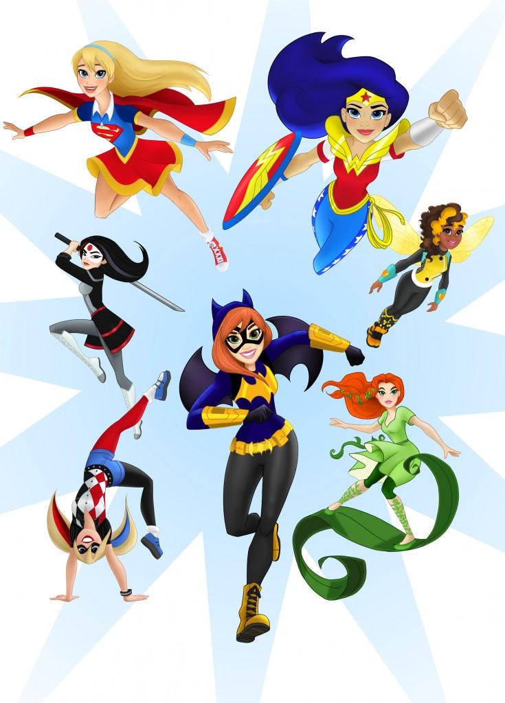 735x1024 Batgirl Clipart Superhero Villain