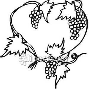 300x300 Grapes Vine Clipart Clipart Panda