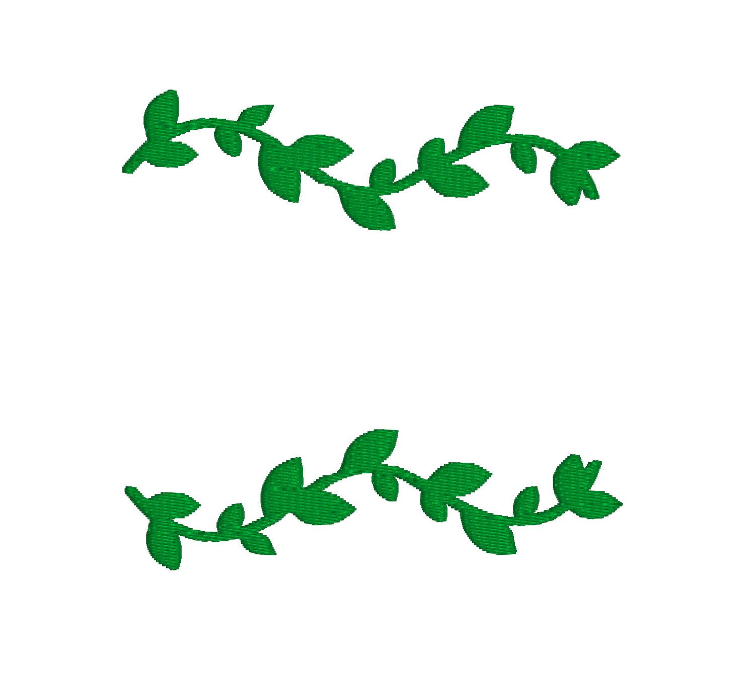 1480x1340 Leaf Vine Border Clip Art