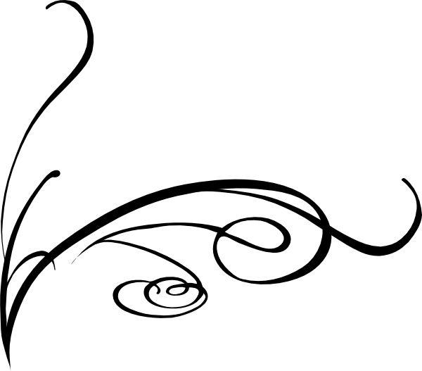 600x527 Vine Line Clip Art