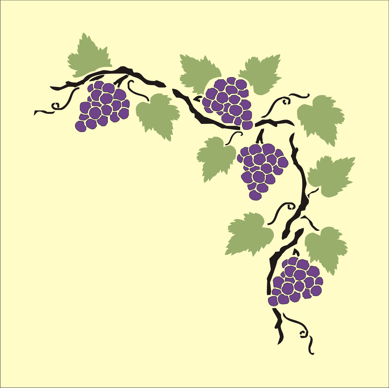 1500x1498 Grape Vine Clip Art Many Interesting Cliparts