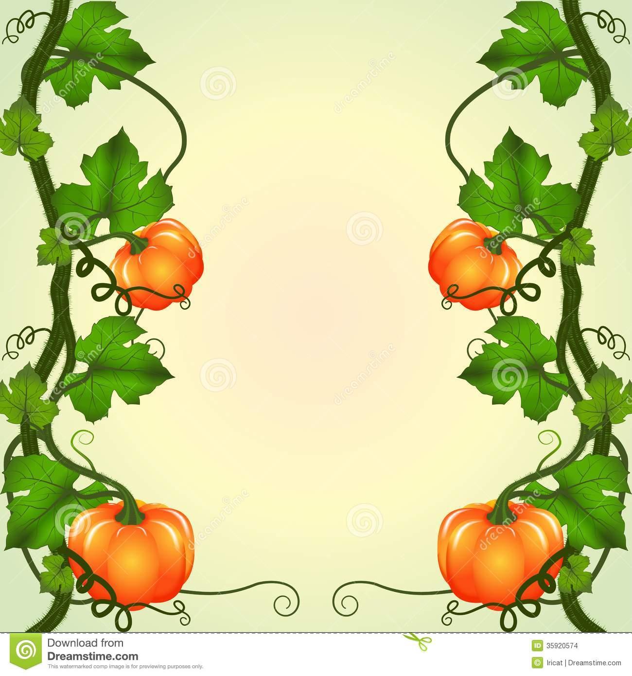 1300x1390 Pumpkin Vines Clipart