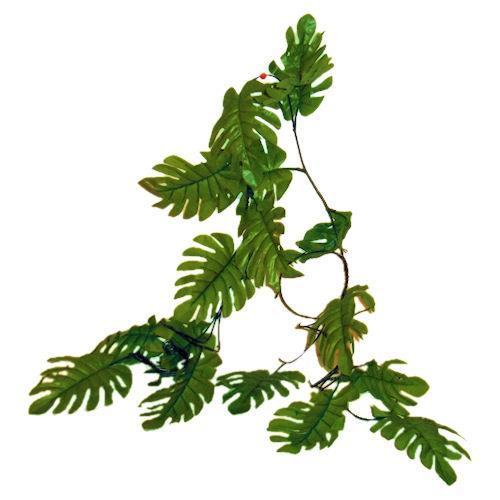 500x500 Jungle Leaf Clipart