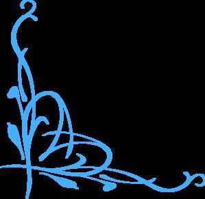 299x291 Blue Vine Clip Art