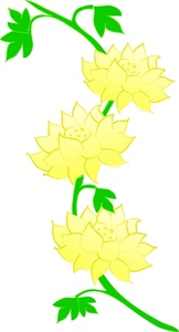 162x300 Clipart Flower Vine