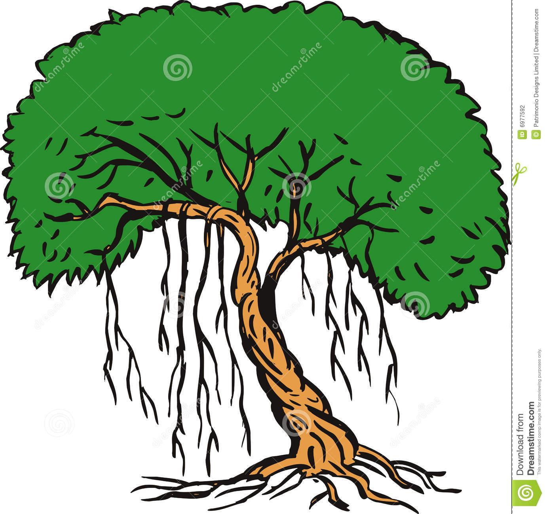 1382x1300 Drawn Jungle Vine Plant