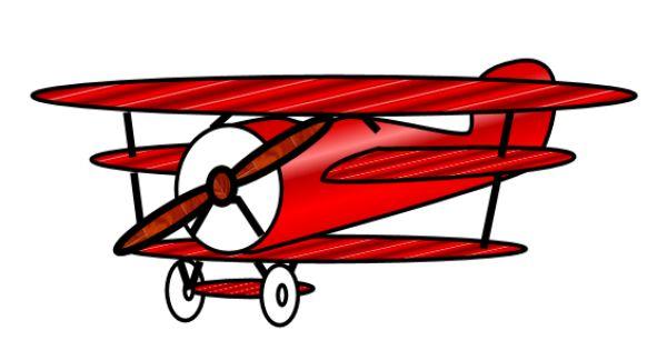 600x315 Best Vintage Airplane Clipart