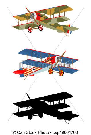 317x470 Vintage Airplane Clipart
