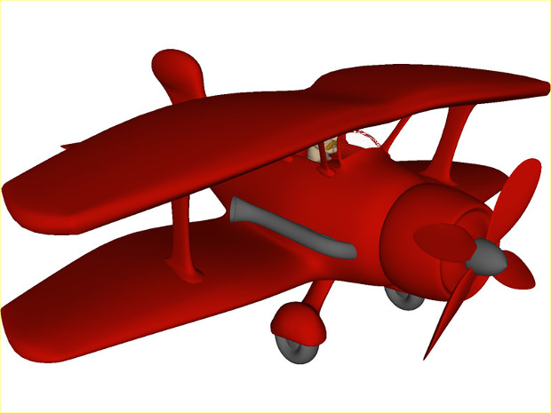 620x465 Airplane Clipart Vintage Red