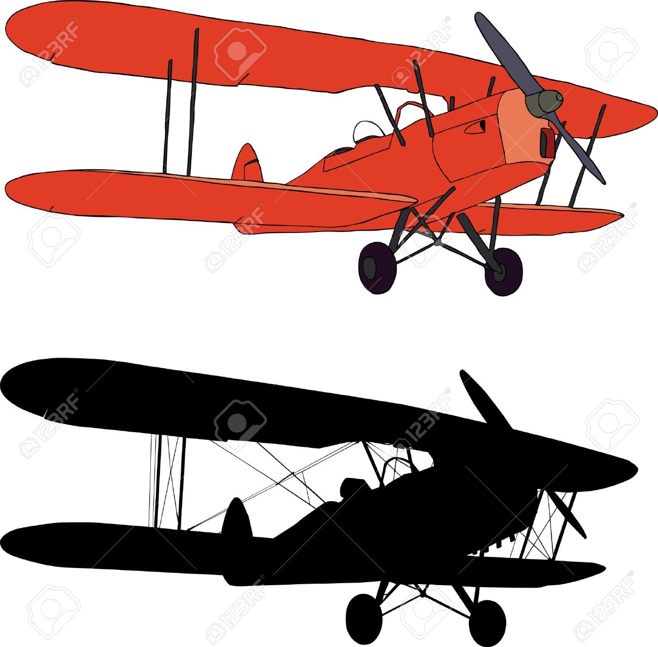 1300x1277 Flight Clipart Old Airplane