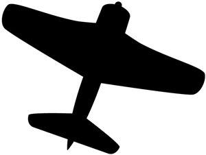 300x226 Shadows Clipart Airplane