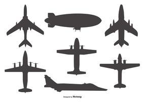 286x200 Vintage Airplane Free Vector Art