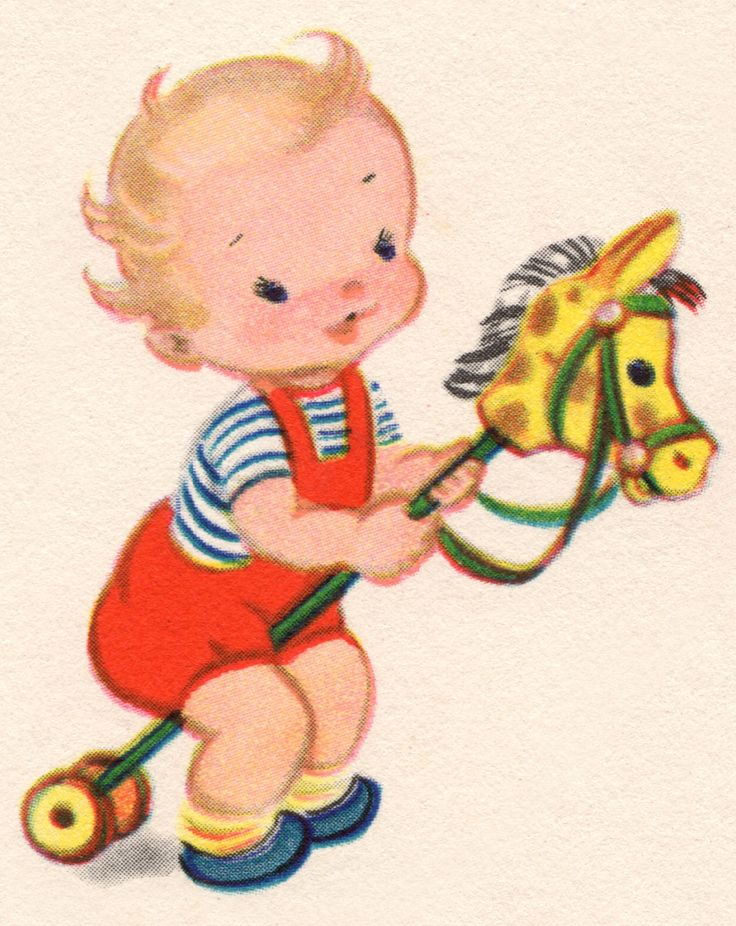 Vintage Baby Clipart