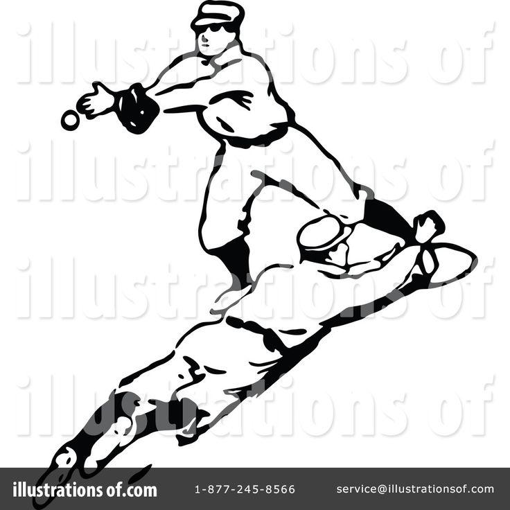 Vintage Baseball Clipart