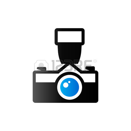 450x450 Vintage Camera Icon In Flat Color Circle Style. Photography