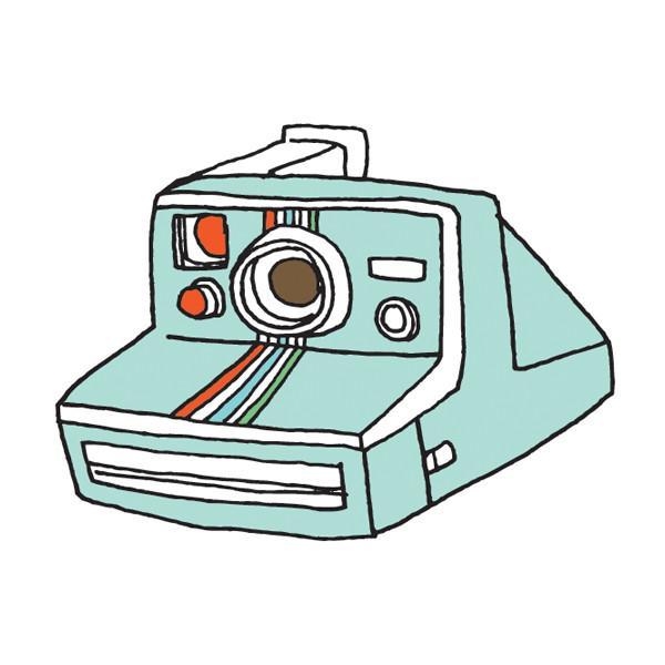 600x600 Camera Clipart Polaroid Camera