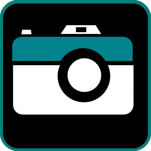600x600 Camera Clipart Vector Art