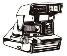 236x197 Drawn Camera Polaroid Camera