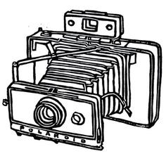 236x222 Camera Outline Clipart