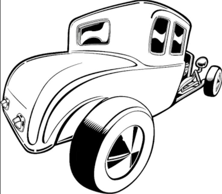 Vintage Car Clipart Free Download Best Vintage Car Clipart On
