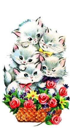 236x437 Happy Mother's Day Kitty Cat Greetings Kitty And Cat