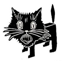 236x204 Pin By Susi Struber On Clipart Cats (Black)