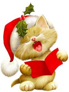 236x311 Christmas Cat Clipart Merry Christmas Christmas Cats Picture