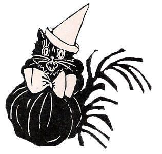 316x300 Halloween Cat Clipart