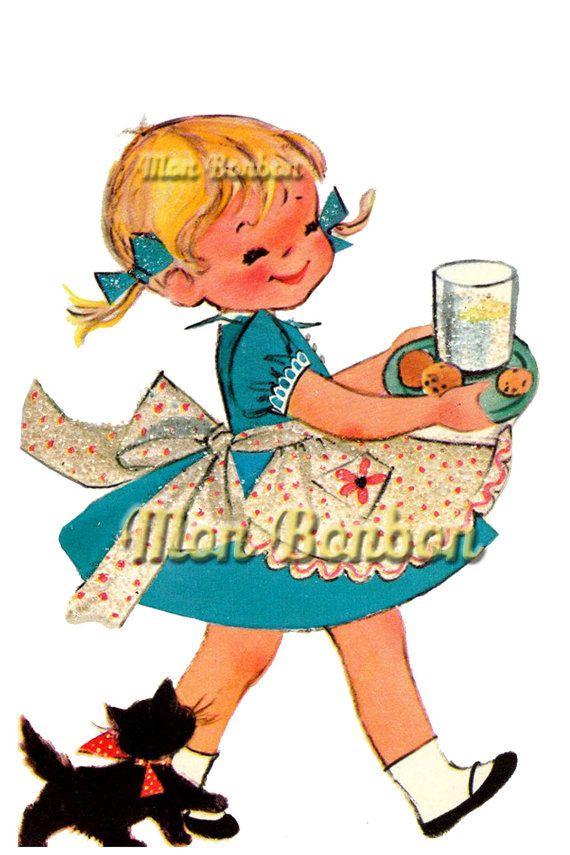 570x855 Best Little Girl Illustrations Ideas Little