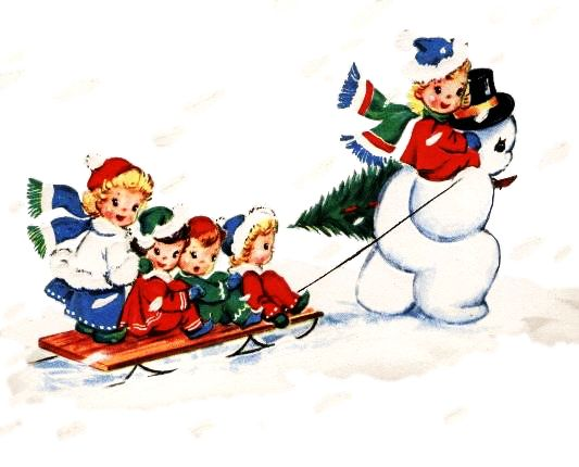 Vintage Holiday Clip Art | Free download on ClipArtMag