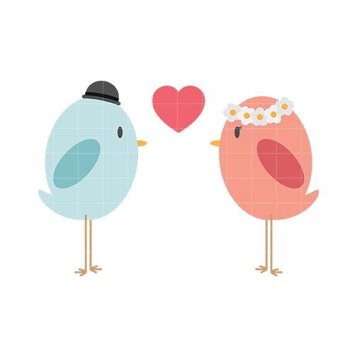 504x504 Love Bird Clipart