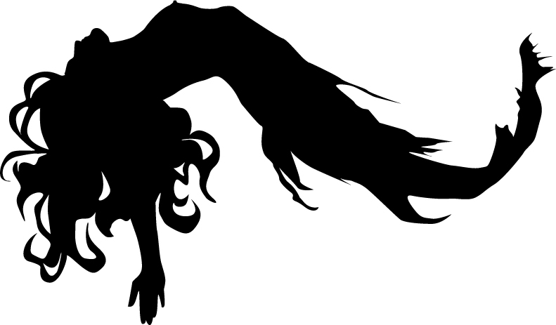 791x463 Mermaid Black And White 0 Images About Mermaids On Clip Art